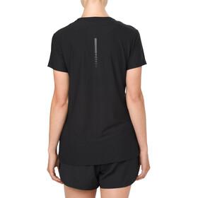 asics SS Top Hardloopshirt korte mouwen Dames zwart